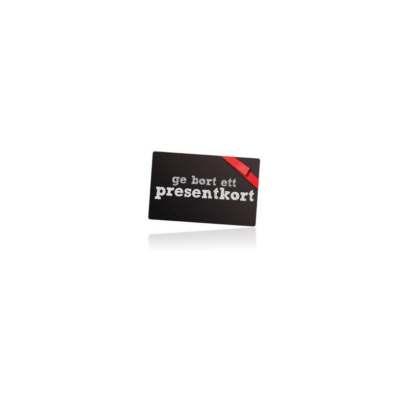 Presentkort-Ge en gåva