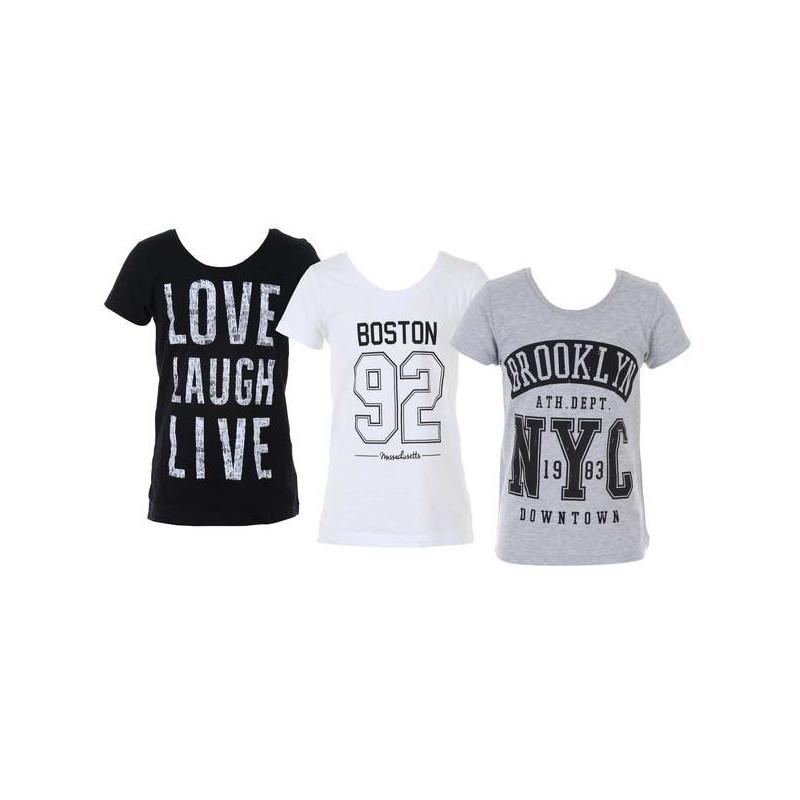 T-shirt för tjej, 122-170cl