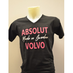 "T-shirt med tryck, ""Absolut Volvo"""